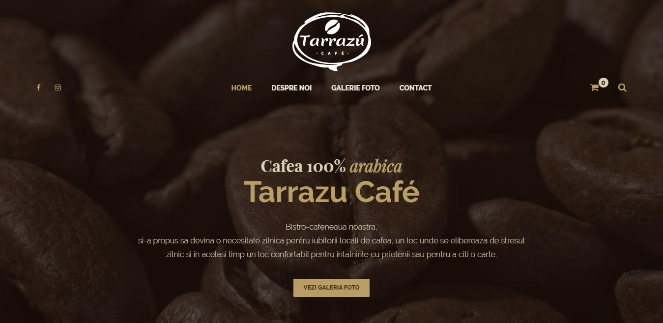 Tarrazu - Bistro-cafenea - Cafea 100 Arabica - Cluj-Napoca serverxtrem.ro