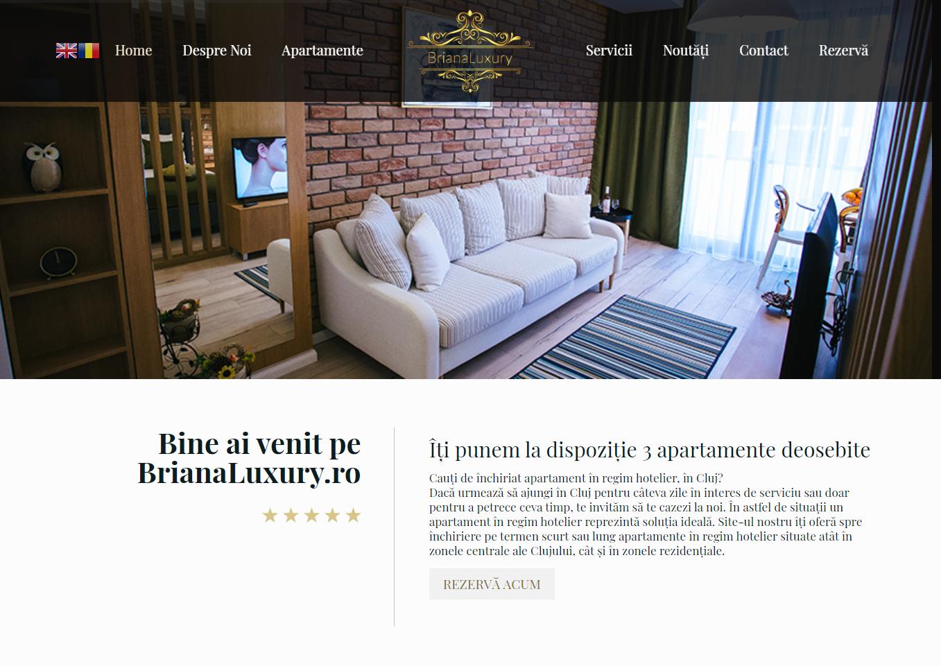 www BrianaLuxury ro - Apartamente in Regim Hotelier Cluj serverxtrem.ro
